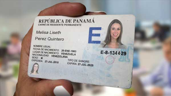 Residency permanent Permit Visa on Panama cedula E