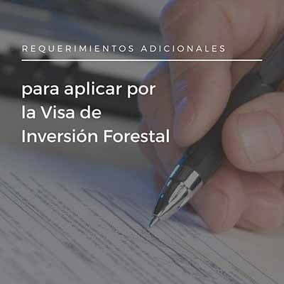 Visa de Inversion Forestal en Panama
