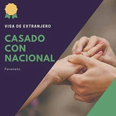 Visa de Casado con Nacional Panameno
