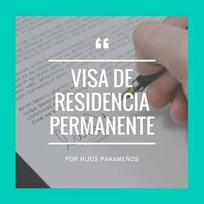 Visa por Hijos Panamenos